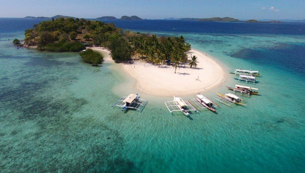 île déserte à Coron