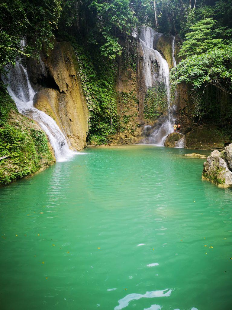 Pahangog Twin Falls, Bohol